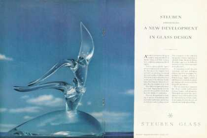 Steuben Glass Photo Flight By Don Pollard (1955)