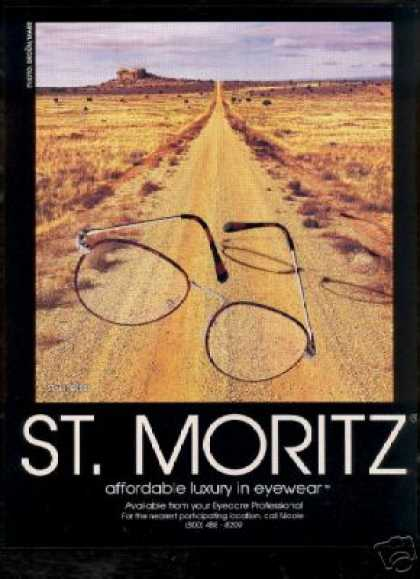 St Moritz Luxury Eyewear Glasses Photo (1993)