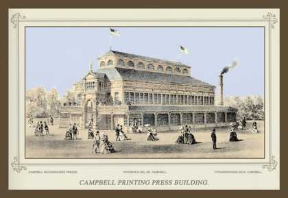 Campbell Printing Press Building, Centennial International Exhibition (1876)