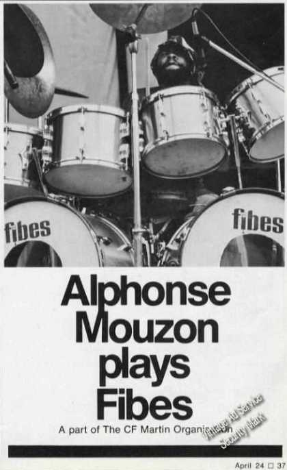 Alphonse Mouzon Photo Fibes (1975)