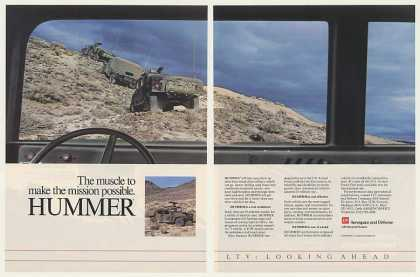 LTV AM General Hummer Military Vehicle (1986)