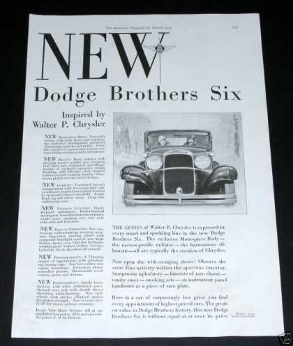 Dodge Brothers Six Auto (1929)
