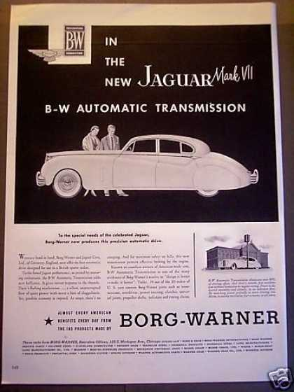 Jaguar Mark Vii Borg-warner Car (1953)