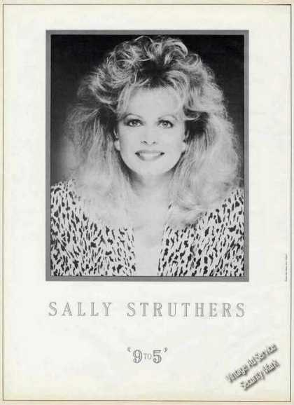 Sally Struthers Photo Large Trade (1987)