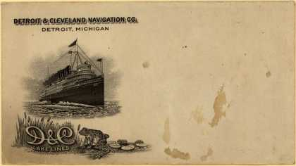 Detroit & Cleveland Navigation Co.'s steamboat travel – D & C Lake Lines