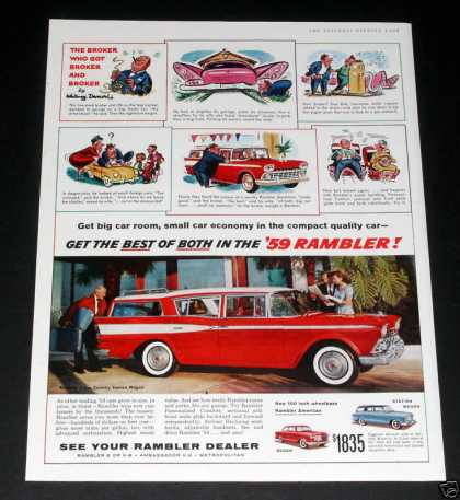 Rambler, Red Cross Country Wagon (1959)