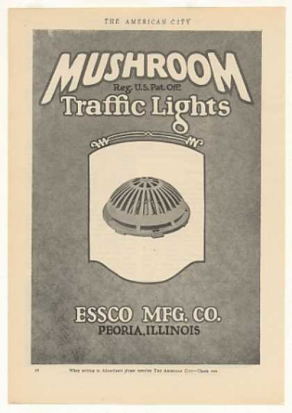 Essco Mushroom Traffic Light (1925)