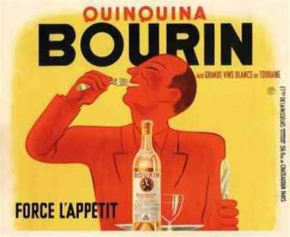 Bourin QuinQuina Yellow (c.) (1936)