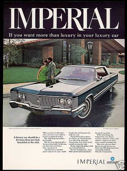 Chrysler Imperial Lebaron Car Photo (1968)