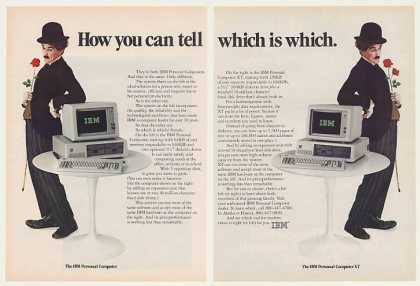 IBM PC and XT Personal Computer Little Tramp 2P (1983)