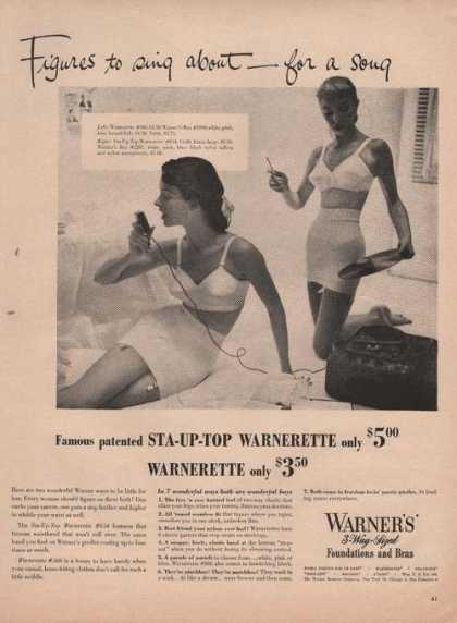 Warners 3 Way Sized Foundation (1949)
