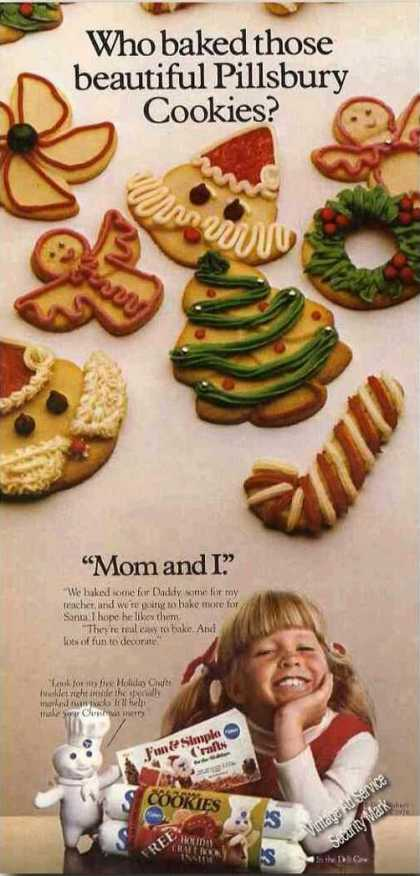 Who Baked Those Pillsbury Cookies Mom & I (1976)