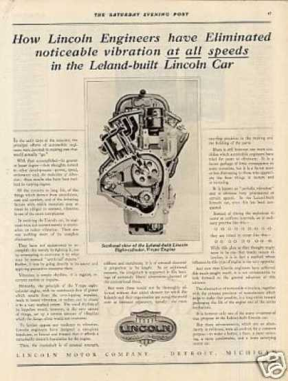 Lincoln Ad V-type Engine (1920)