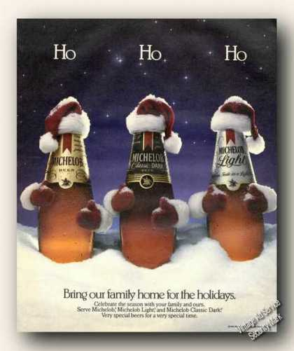 Michelob Beer Ho Ho Ho Vertising (1986)