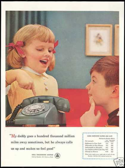 Bell Telephone System Rotary Dial Phone (1957)