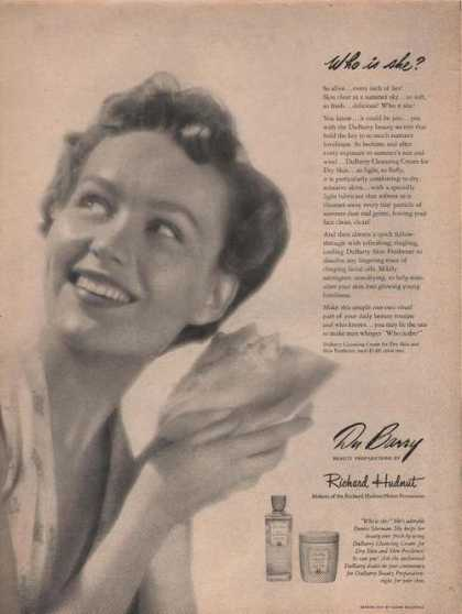 Richard Hudnut Du Barry Cleansing Cream (1949)