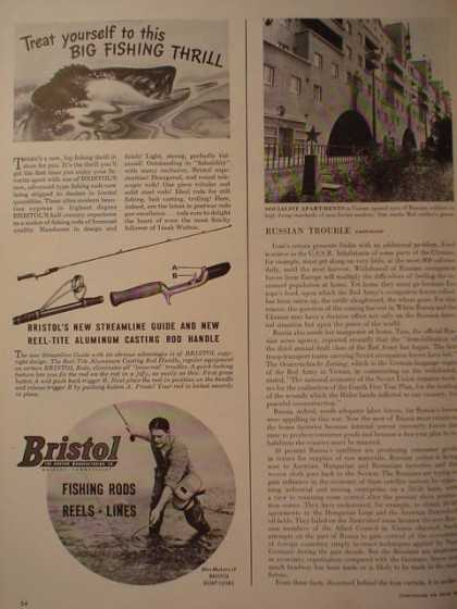 Bristol Fishing Rods Reels Lines (1946)