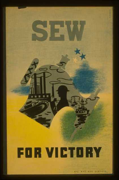Sew for victory / Pistchal. (1941)