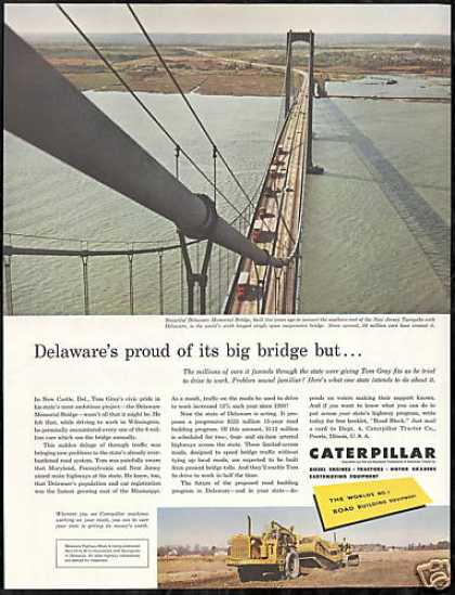 Delaware Memorial Bridge Photo Caterpillar (1956)