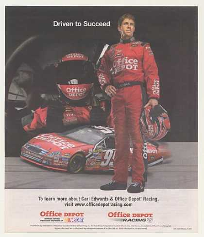 NASCAR Carl Edwards Office Depot Racing (2007)