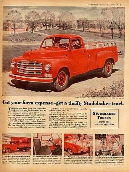Studebaker Pick-up Truck (1950)