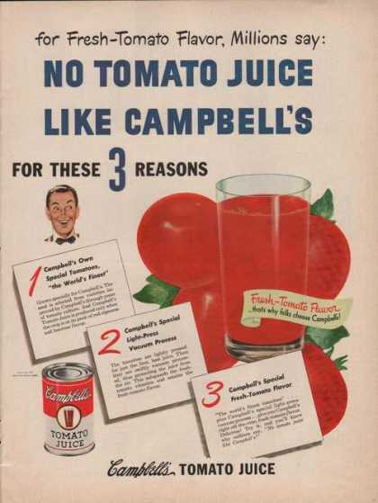 No Tomato Juice Like Campbells (1949)