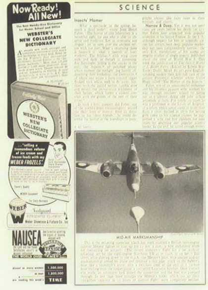 Aircraft History Magazine Article – Mid-Air Marksmanship (1948)