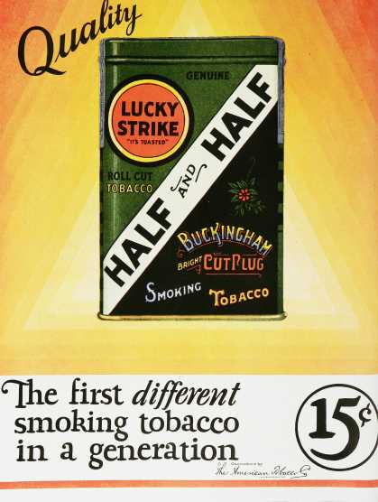 Lucky Strike Half and Half