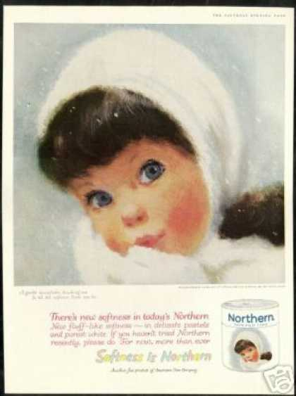 Blue Eyes Pretty Girl Northern Tissue (1961)