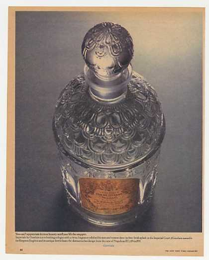 Guerlain Imperiale Cologne Large Bottle Photo (1965)