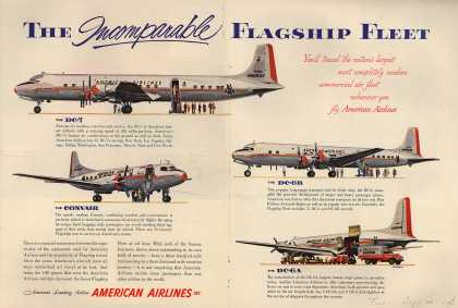 American Airlines – The Incomparable Flagship Fleet (1954)