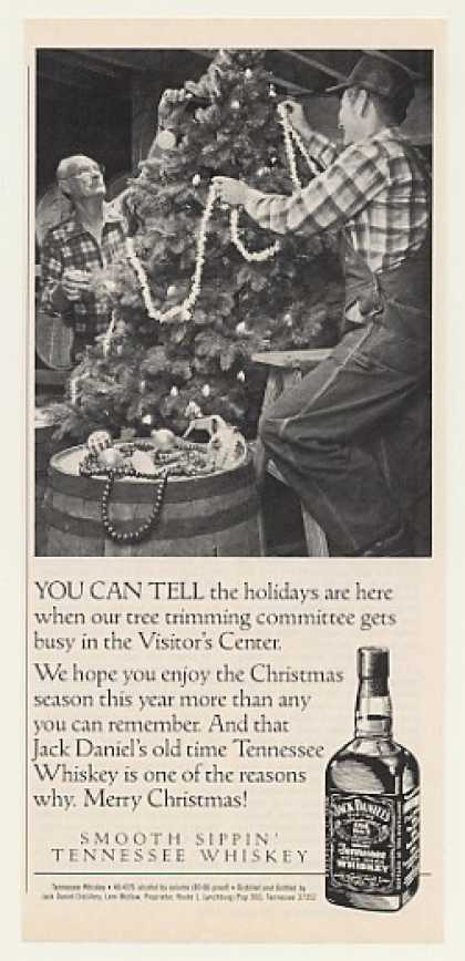 Jack Daniel's Whiskey Christmas Tree Trimming (1989)