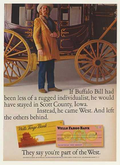 Buffalo Bill Stagecoach Wells Fargo Bank (1971)