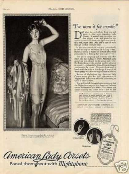American Lady Corsets (1921)