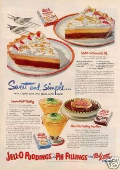 Jello Pudding (1951)