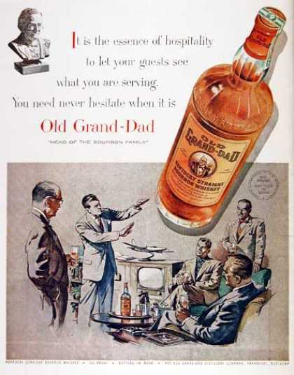 Old Grand-Dad Whiskey (1955)