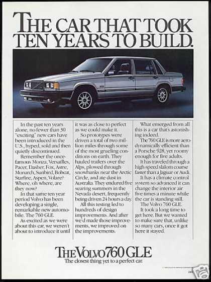 Volvo 760 GLE Car Photo (1983)