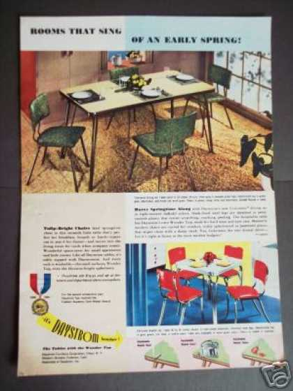 Daystom Furniture Coloramic or Chrome Original (1951)