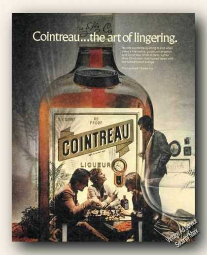 Cointreau...the Art of Lingering Chess Game (1973)