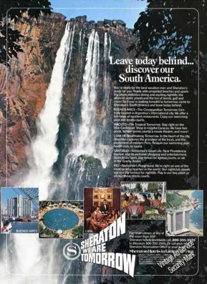 Sheraton Hotels In South America Beautiful (1981)