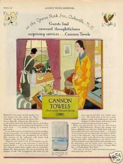 Cannon Towels (1927)