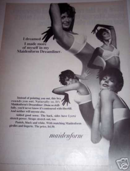 Maidenform Dreamliner Bra (1970)