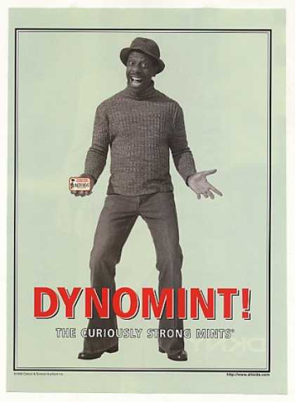 Jimmie JJ Walker Dynomint Altoids Mints Photo (1999)