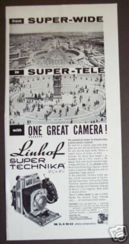 Linhof Super Technika 2 1/4 X 3 1/4 Camera (1961)