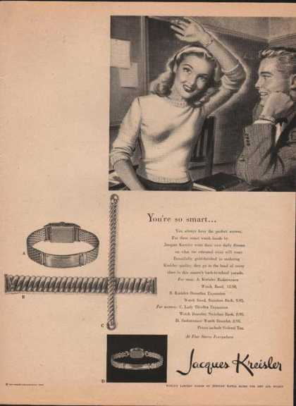 Jacques Kreisler Watch Band (1946)
