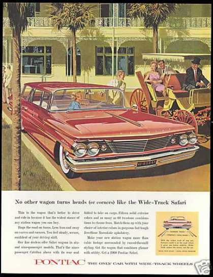 Pontiac Catalina Safari Station Wagon AF VK (1960)