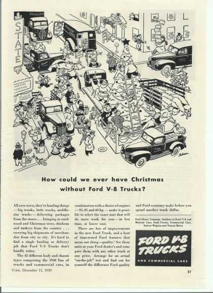Ford V-8 Trucks Cartoon (1939)