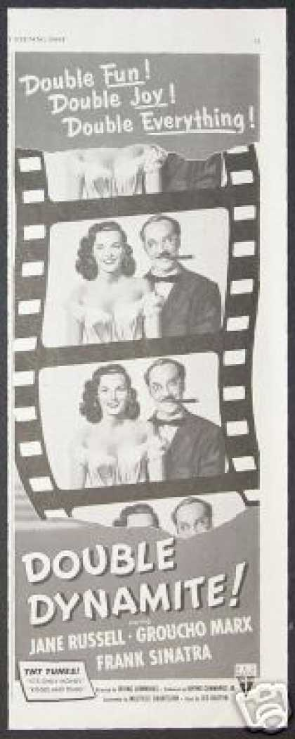 Groucho Marx Jane Russell Vintage Movie (1951)