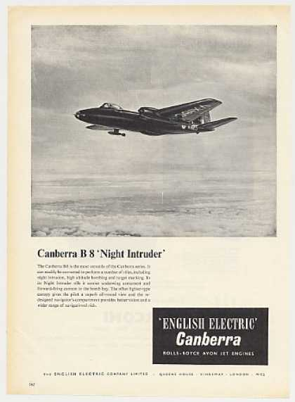 English Electric Canberra B 8 Night Intruder (1955)