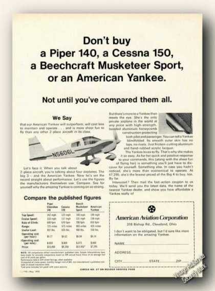 American Yankee Comparisons Photo (1970)